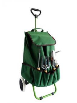 Chariot de jardin +4 outils