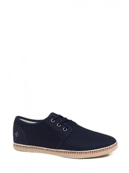 Baskets bleues homme