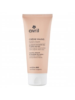 Crème mains bio Avril